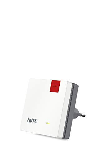 AVM FRITZ!WLAN Mesh Repeater 600 (WLAN N bis zu 600 MBit/s (2,4 GHz), WPS, kompakte Bauweise,...