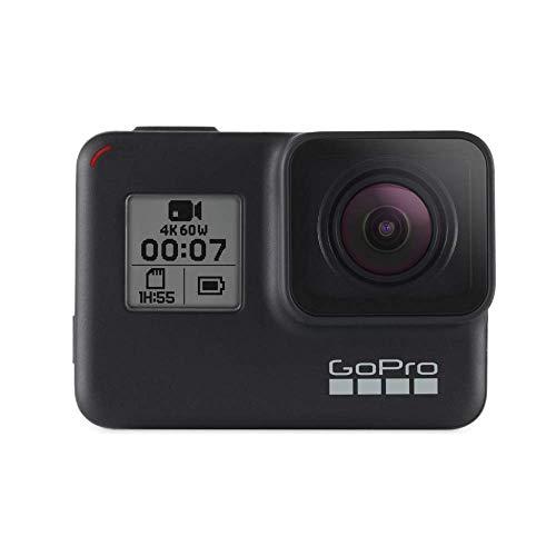 GoPro HERO7 Schwarz - wasserdichte digitale Actionkamera mit Touchscreen, 4K-HD-Videos, 12-MP-Fotos,...