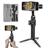 Zhiyun Smooth 4 Smartphone Gimbal Handy Stabilisator 3-Achsen Handheld Stabilizer bis zu 210g für...