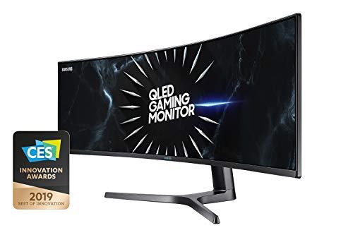 Samsung C49RG94SSU 124,20 cm (49 Zoll) Curved Gaming Monitor (5120 x 1440 Pixel, Dual WQHD 32:9...