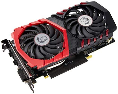 MSI NVIDIA GeForce GTX 1050 Ti Gaming X 4G Grafikkarte (GDDR5, HDMI, DP, DL-DVI-D, Afterburner OC,...