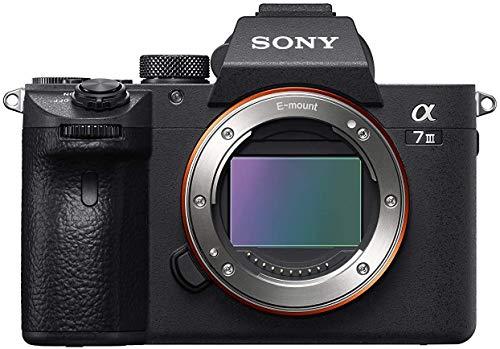 Sony Alpha 7 III   Spiegellose Vollformat-Kamera ( Schneller 0,02s AF, optische...