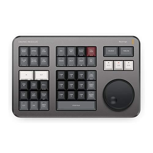 Blackmagic Davinci Resolve Speed Editor Keyboard