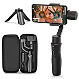 Hohem 3-Axis Smartphone Gimbal Stabilizer for iPhone12/ 11 Pro Max/Samsung/Huawei, iSteady Mobile...