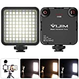 Video Licht Led,Farbtemperatur Fotolicht 3200k-5600k,Videoleuchte Softbox Klein Kamera Licht mit...