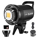 GODOX SL60W LED Video Leuchte 5600K 60W LED Dauerlicht Bowens Halterung CRI95+ Qa90 Hohe Helligkeit...