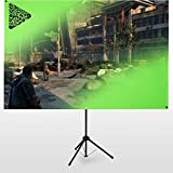 eSmart Germany X-Type Ultralightweight Greenscreen 161 x 93 cm | 70' | mobiler Greenscreen |...