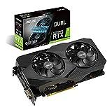 ASUS Dual Nvidia GeForce RTX 2060 6GB EVO Gaming Grafikkarte (GDDR6 Speicher, PCIe 3.0, 1x HDMI...