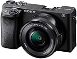 Sony Alpha 6400 | APS-C Spiegellose Kamera mit Sony 16-50mm f/3.5-5.6 Power-Zoom-Objektiv (...