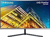 Samsung U32R594CWU Computerbildschirm 80 cm (31.5 Zoll) 4K Ultra HD LCD Gebogen Grau -...