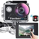 Yarber AR02 Ultra 4K/30fps 20MP Action Cam WiFi Action Kamera mit 2' Touchscreen,...
