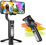 Smartphone Gimbal, Hohem Gimbal Stabilisator mit EIN-klick-Videoproduktion, Sportmodus und...