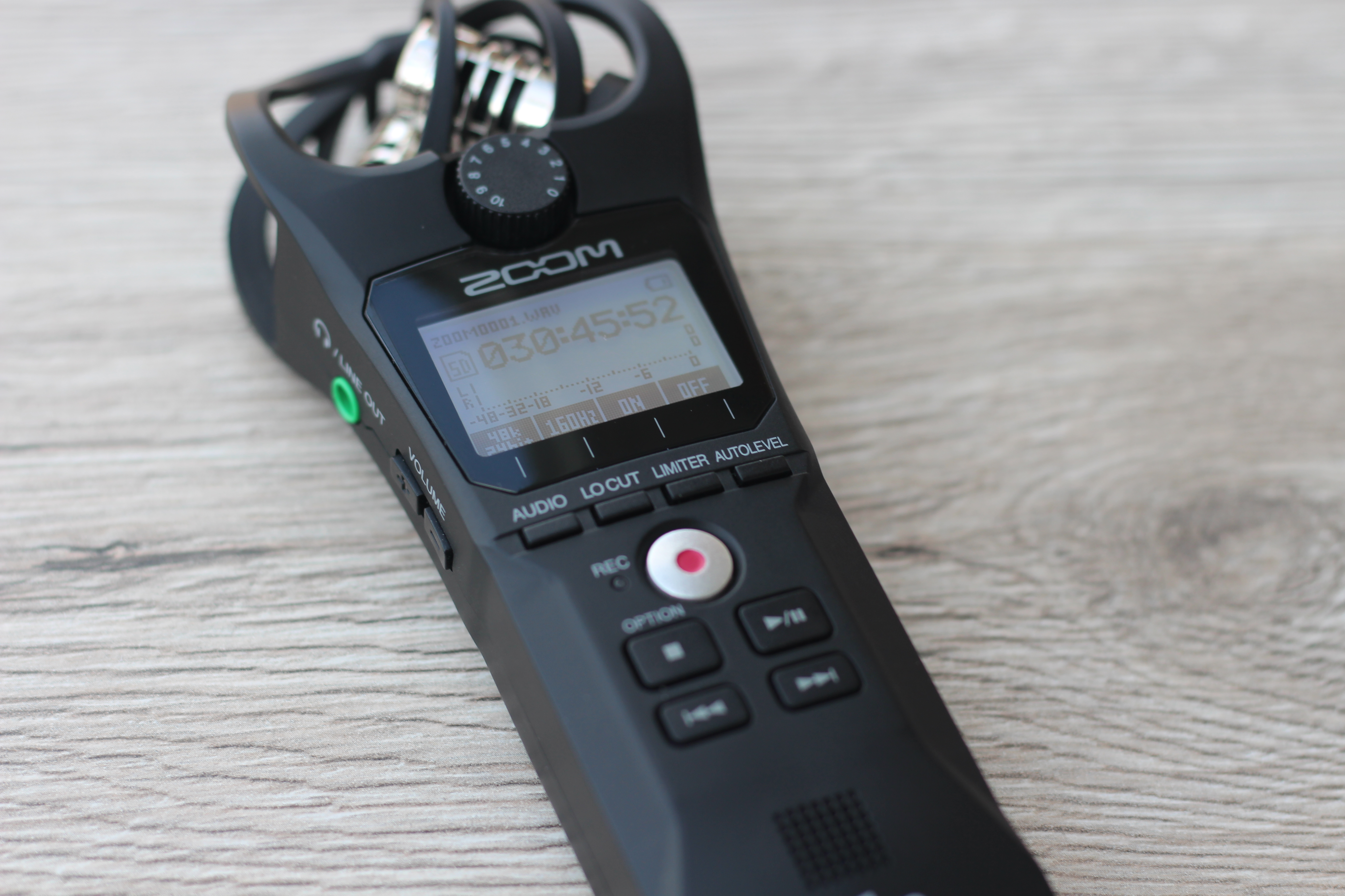 Zoom H1n Audiorekorder
