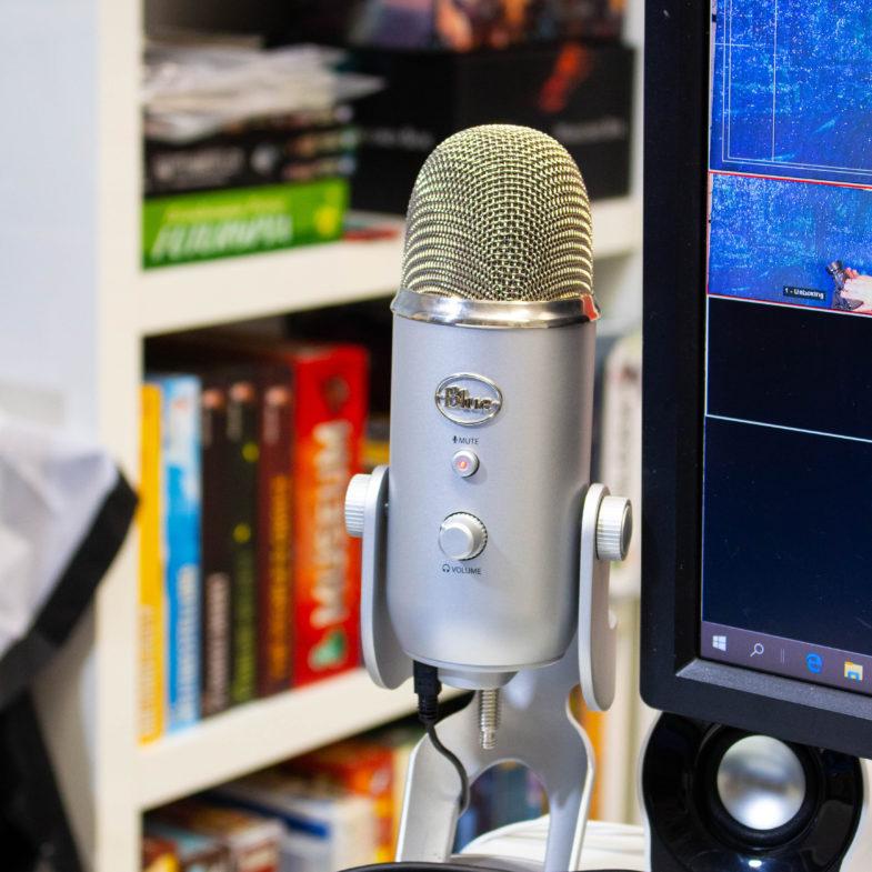 Top 21 Fehler von neuen YouTubern - Mikrofon Blue Yeti