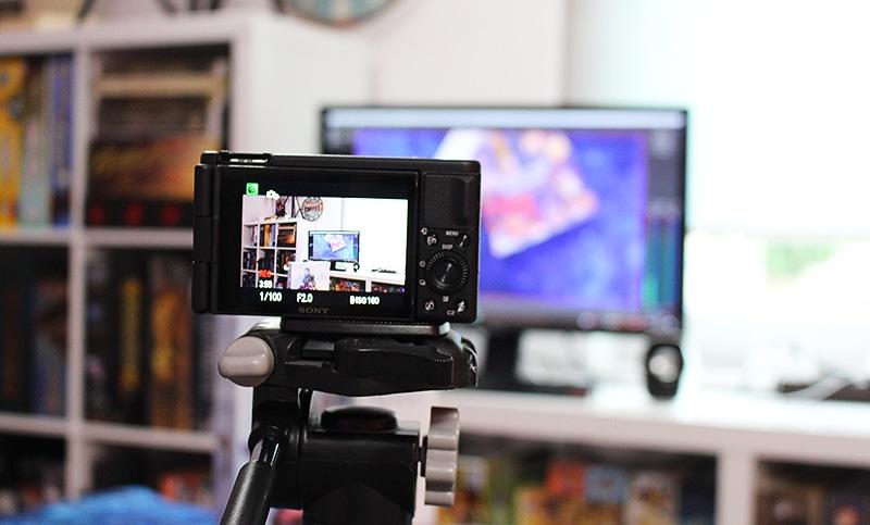 Sony ZV-1 Youtube Kamera