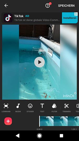 Video bearbeiten mit Smartphone App