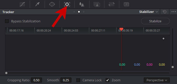 Bildstabilisierung im Videoschnitt