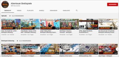 Video Übersicht Titel Youtube