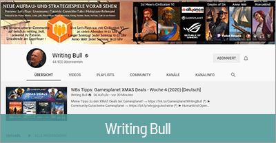 Streaming Technik von Writing Bull