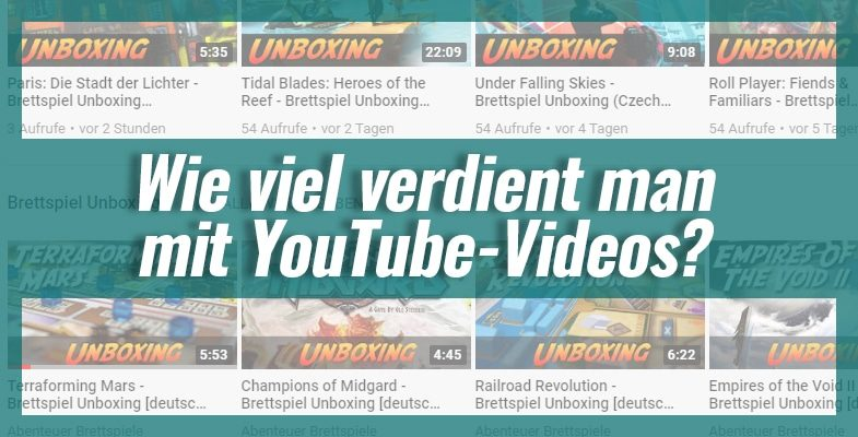 Wie viel verdient man mit YouTube-Videos?