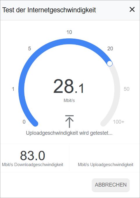 So kannst du deine Upload-Geschwindigkeit testen