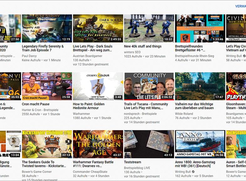 Top 21 Fehler von neuen YouTubern - keine Thumbnails