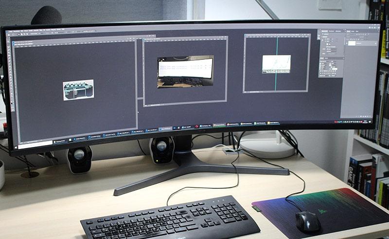 Samsung C49HG90DMU – 49 Zoll Curved Monitor