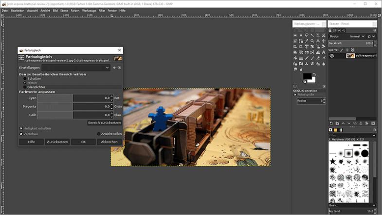 Adobe Photoshop Alternative GIMP